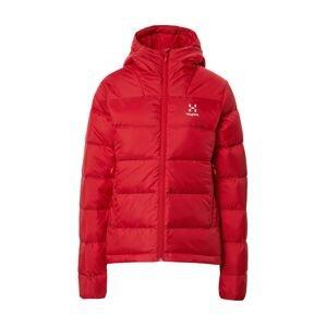 Haglöfs Outdoorová bunda 'Bield'  červená / bílá