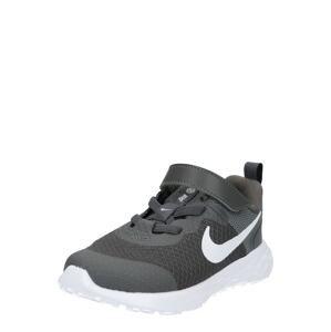 NIKE Sportovní boty 'Revolution 6'  bílá / tmavě šedá