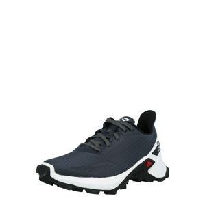SALOMON Sportovní boty 'ALPHACROSS BLAST'  stříbrně šedá / bílá