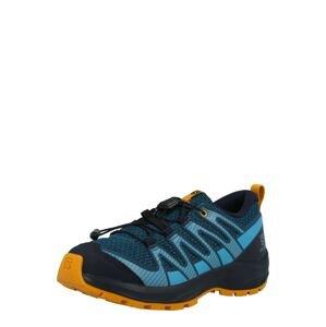 SALOMON Sportovní boty  námořnická modř / světlemodrá / zlatě žlutá