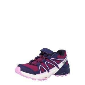 SALOMON Sportovní boty  vínově červená / tmavě modrá / bílá / černá