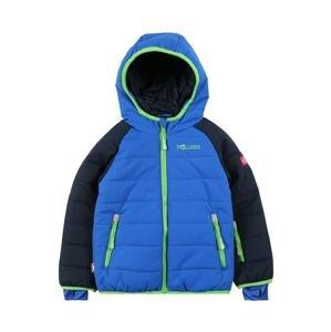 TROLLKIDS Outdoorová bunda  námořnická modř / modrá / svítivě zelená