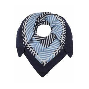 Zwillingsherz Látková rouška  námořnická modř / světlemodrá / bílá