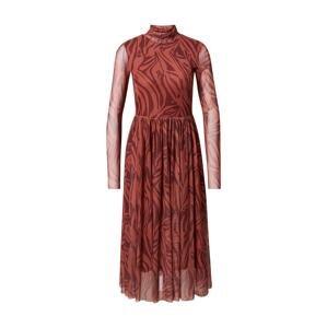 Rich & Royal Šaty  humrová / korálová