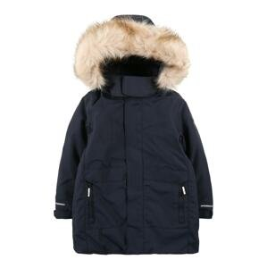 CMP Outdoorová bunda  námořnická modř / béžový melír