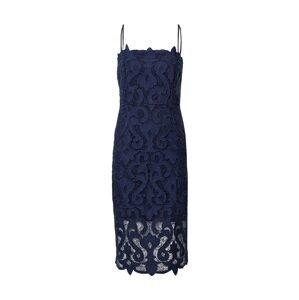 Bardot Koktejlové šaty 'LINA'  námořnická modř