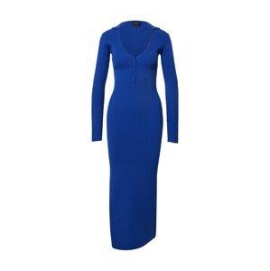 Bardot Úpletové šaty  královská modrá