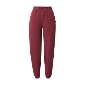 Colourful Rebel Kalhoty  burgundská červeň