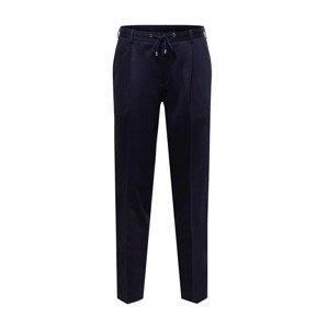 SAND COPENHAGEN Kalhoty se sklady v pase 'Mark'  tmavě modrá