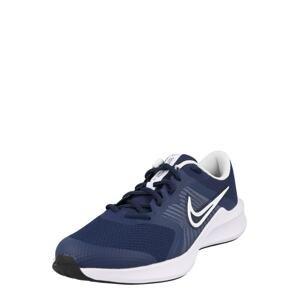 NIKE Sportovní boty  noční modrá / bílá