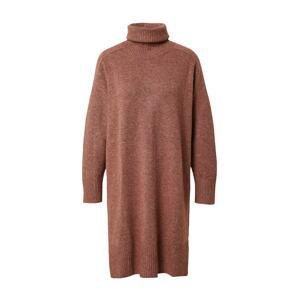 Designers Society Úpletové šaty 'AHTO'  hnědý melír