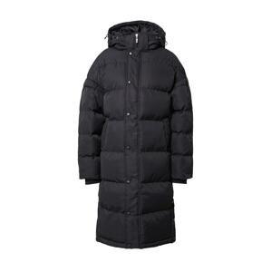 Missguided Zimní kabát  černá