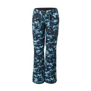 ROXY Outdoorové kalhoty 'NADIA'  černá / světlemodrá / tyrkysová
