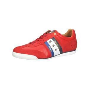 PANTOFOLA D'ORO Tenisky 'Imola'  červená / bílá / modrá / tmavě modrá