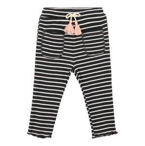 BESS Kalhoty  antracitová / bílá / růžová / pudrová