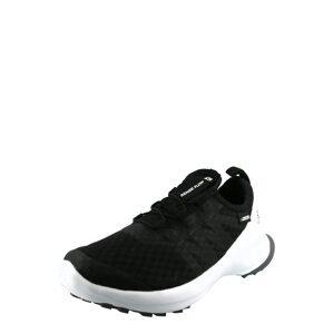 SALOMON Sportovní boty 'SENSE FLOW'  černá / bílá