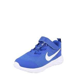 NIKE Sportovní boty 'Revolution 6'  královská modrá / bílá