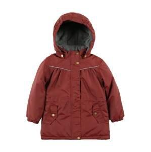 mikk-line Zimní bunda  pastelově červená