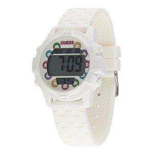 GUESS Digitální hodinky  bílá