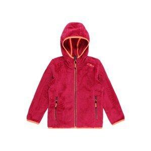 CMP Funkční flísová bunda  svítivě růžová