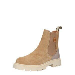 CAMEL ACTIVE Chelsea boty  béžová / šedobéžová