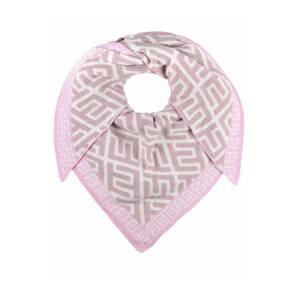 Zwillingsherz Látková rouška  růže / pink / bílá