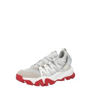 Calvin Klein Jeans Tenisky  stříbrná / režná