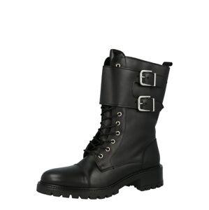 Y.A.S Šněrovací boty  černá