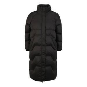 Pieces Petite Přechodný kabát 'Cinda'  černá