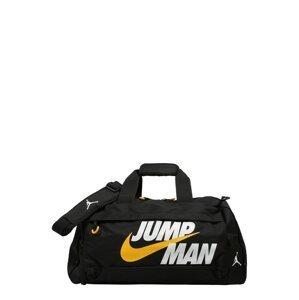 Jordan Taška  černá / bílá / žlutá