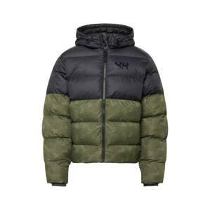HELLY HANSEN Zimní bunda  zelená / černá