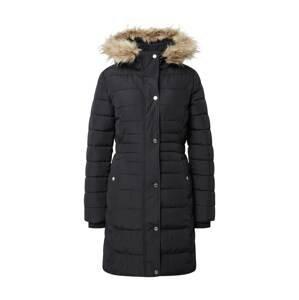 HOLLISTER Zimní kabát  černá