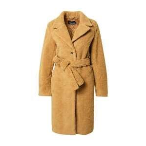 PIECES Přechodný kabát 'Fernanda'  světle hnědá