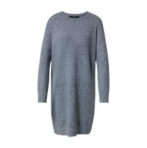 VERO MODA Úpletové šaty 'Doffy'  modrý melír