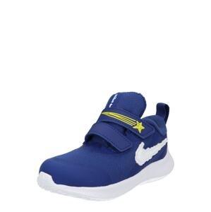 NIKE Sportovní boty 'Star Runner 3 Dream'  královská modrá / bílá / žlutá