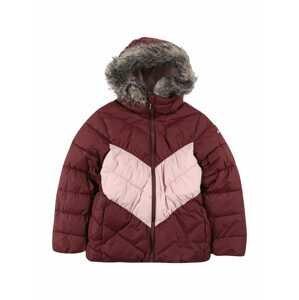 COLUMBIA Sportovní bunda 'Arctic Blast'  vínově červená / světle růžová