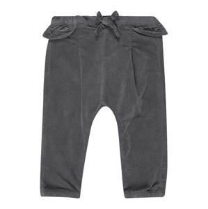 NAME IT Kalhoty  tmavě šedá