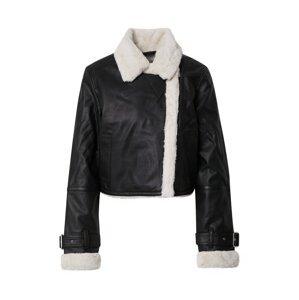 HOLLISTER Přechodná bunda  černá