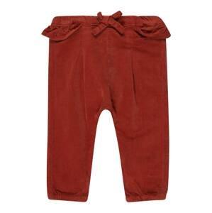 NAME IT Kalhoty 'RIE'  rezavě červená