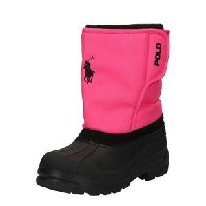 Polo Ralph Lauren Sněhule  pink / černá