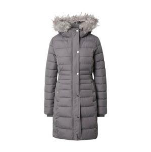 HOLLISTER Zimní kabát 'Core'  šedá