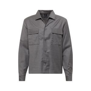 BOSS Košile 'Nolan'  šedý melír