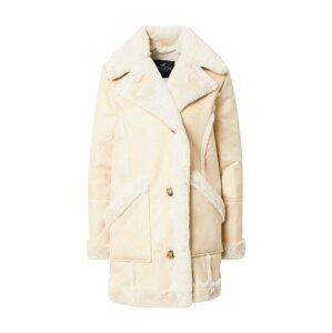 HOLLISTER Přechodný kabát  béžová