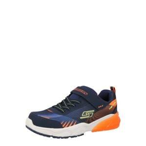 SKECHERS Tenisky 'THERMOFLUX 2.0'  námořnická modř / tmavě oranžová / žlutá / modrá