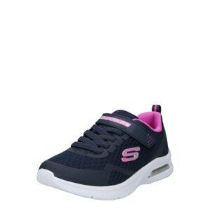 SKECHERS Tenisky  námořnická modř / pink