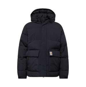 Carhartt WIP Zimní bunda 'Munro'  černá / přírodní bílá / oranžová