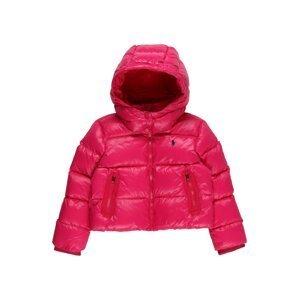 Polo Ralph Lauren Zimní bunda 'CHANNEL'  růžová