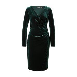 Lauren Ralph Lauren Koktejlové šaty 'TORELANA'  zelená