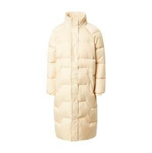 PIECES Zimní kabát 'Cinda'  krémová