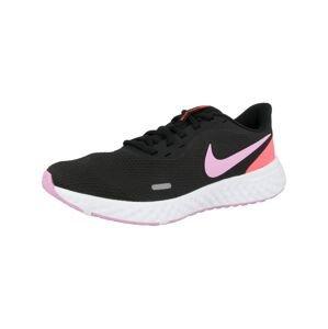 NIKE Běžecká obuv 'Revolution 5'  černá / růžová